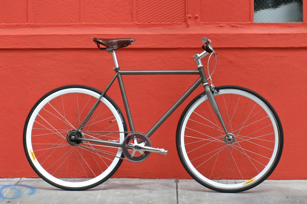 Frame Finish   Mission Bicycle