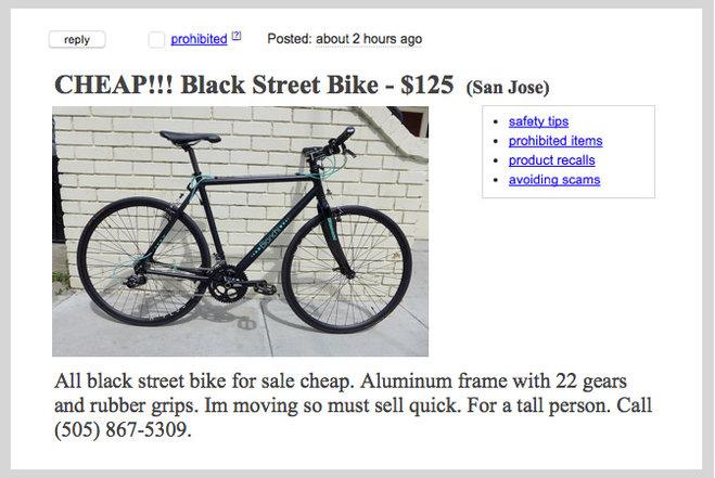 craigslist san jose bikes for   life style by modernstork
