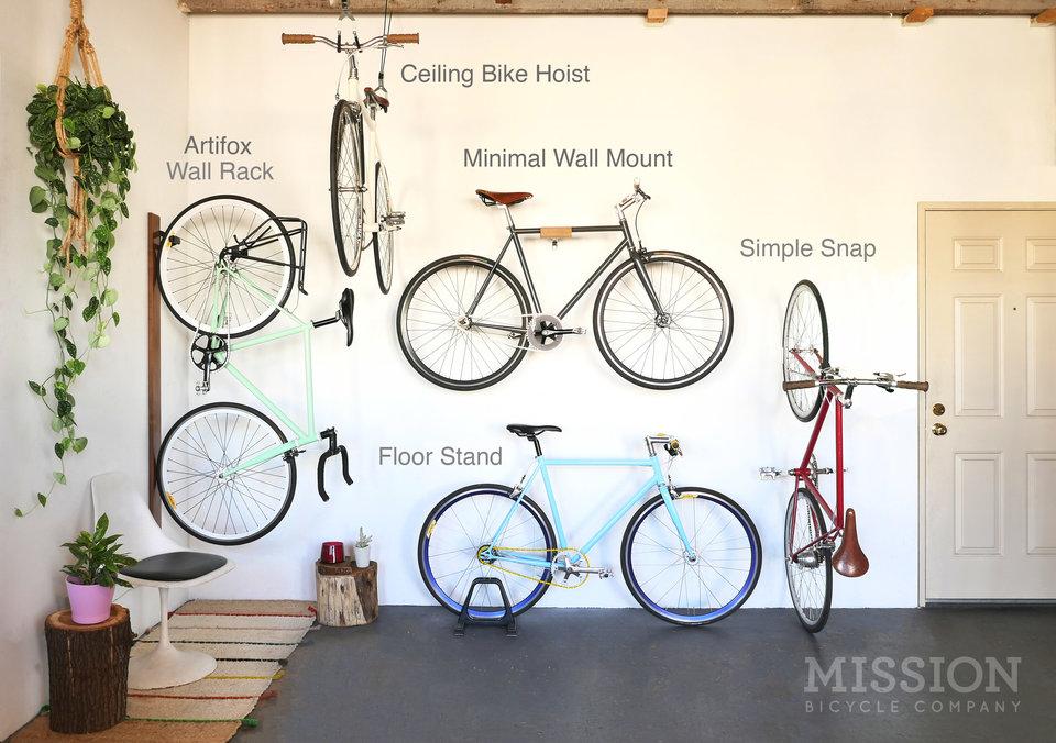 & Bike Storage | Mission Bicycle