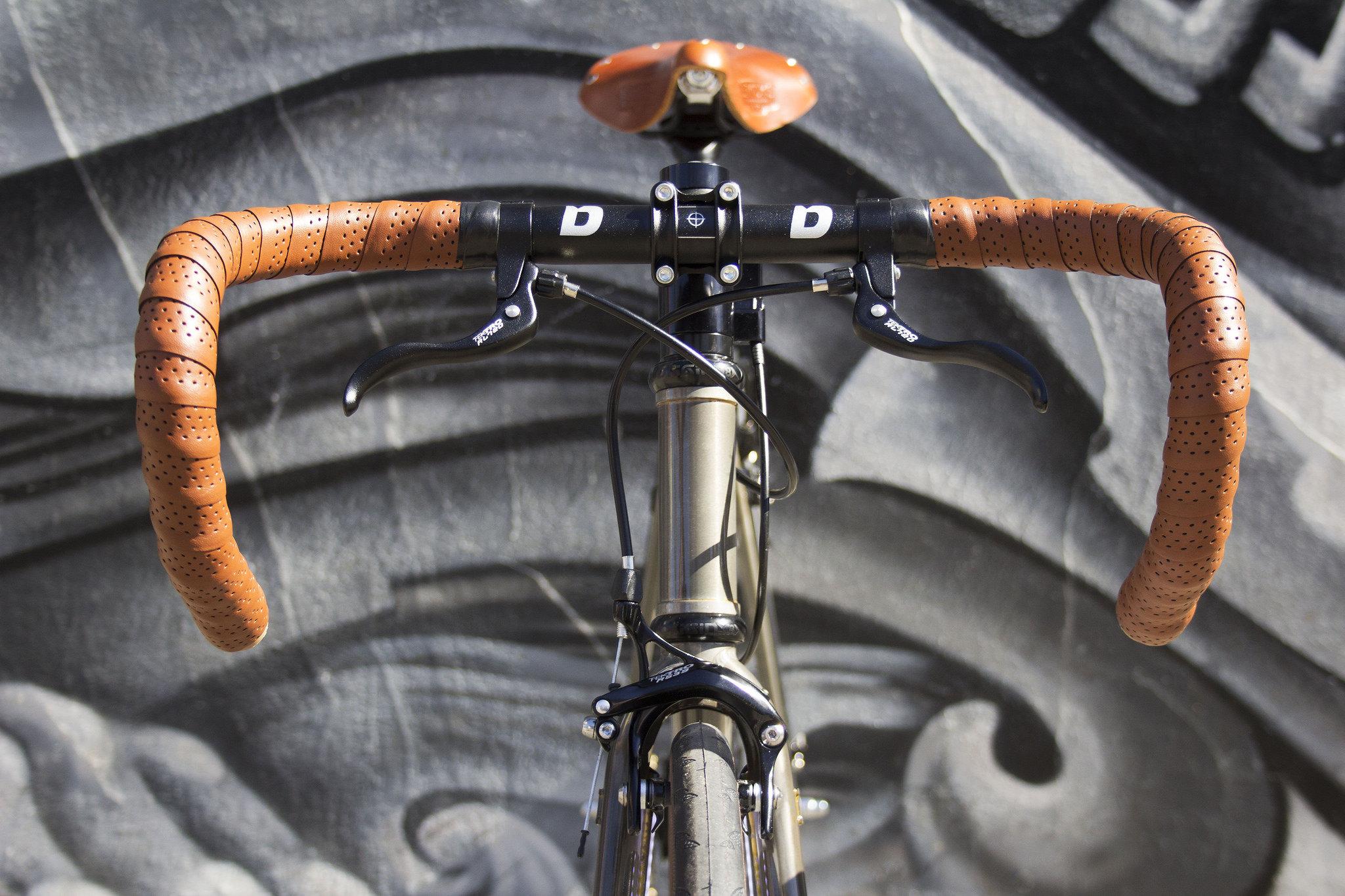 Vintage Style Bike Handlebar Grip Road   Bicycle Handle Bar Grips