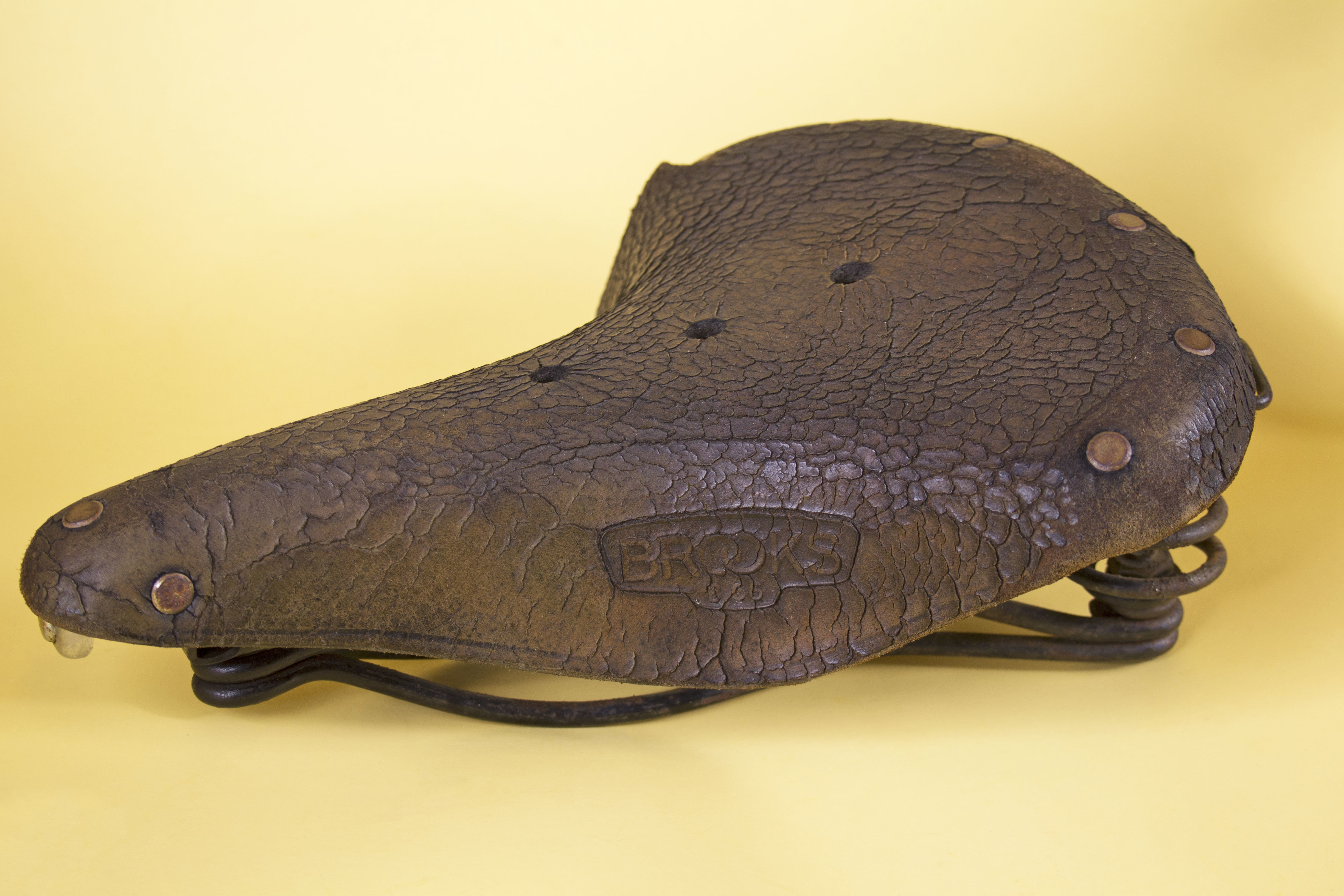 2dfa24d96f On the other hand, if neglected, a Brooks saddle might end up looking like  this: