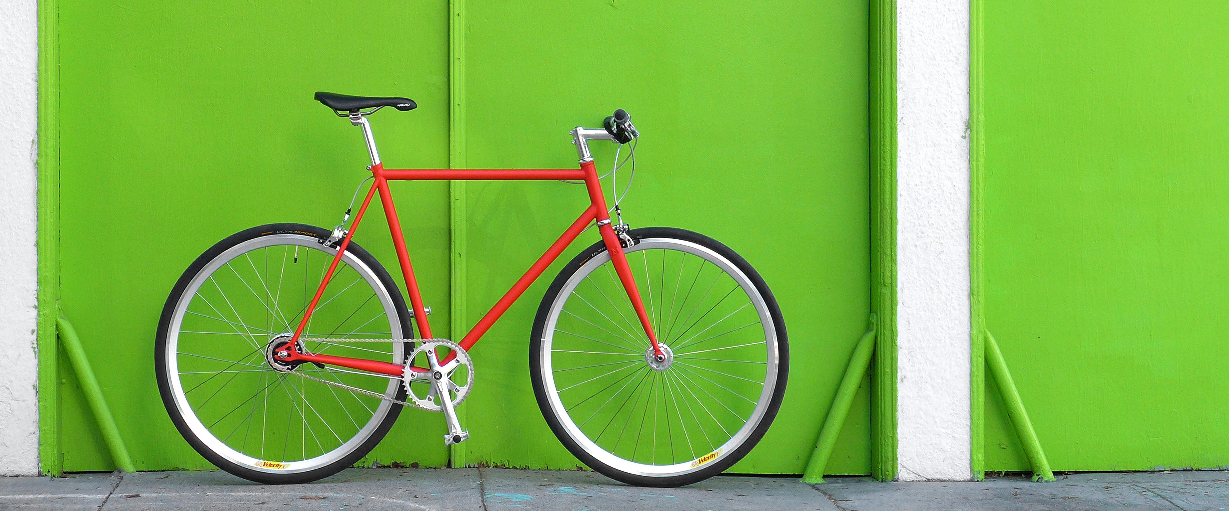 Mission Bicycle custom bike